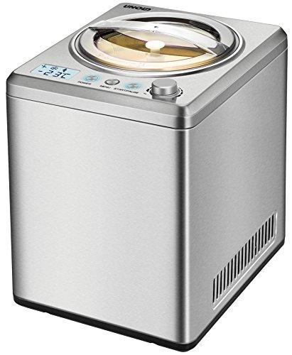 Unold 48880 Eismaschine, Rostfreier Stahl, 2.5 liters, edelstahl gebürstet