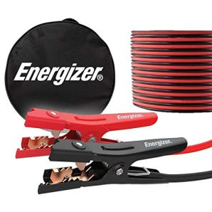 Energizer Jumper Cables for Car Battery, Heavy Duty Automotive Booster Cables for Jump Starting Dead or Weak Batteries with Carrying Bag Included (16-Feet (6-Gauge)