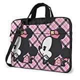 15.6 ″ Viaje de Negocios Cute Minnie Baby Laptop Notebook PC Maletín Hombro Messenger Bag Funda