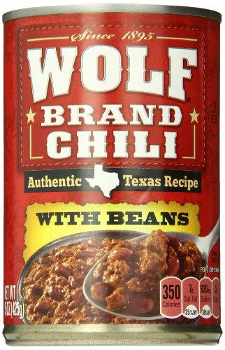 WOLF BRAND Chili With Beans, 15 Oz