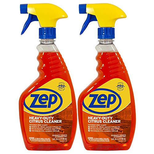 Zep Heavy-Duty Citrus Cleaner 24oz. ZUCITCA24 (Pack of 2) Restaurant...