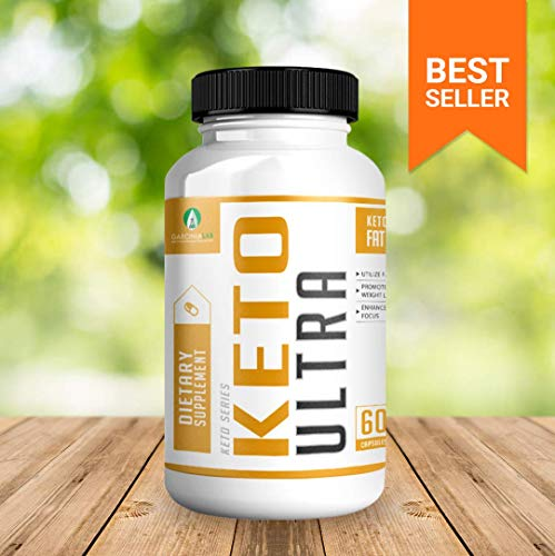 Keto Pills Diet - Keto Ultra Supplement for Fat Burning Weight Loss w/Ketogenic Diet BHB Salts - Formulated to Support Fat Burn, Energy Boost, and Maintaining Ketosis | 60 Count Bottle USA Made 6