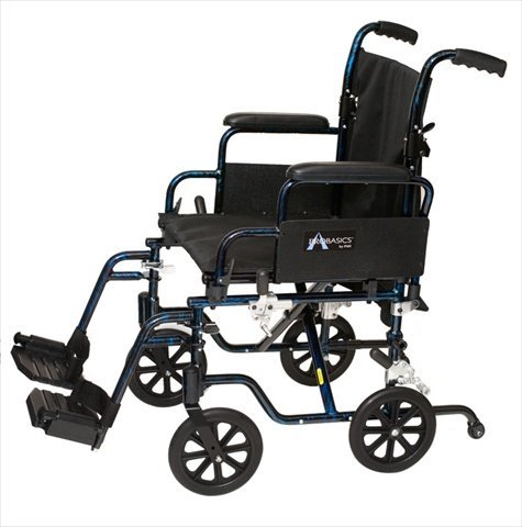 The Transformer™ Lightweight Wheelchair Seat Size: 20' W