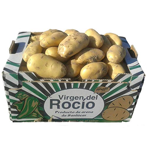 Patata Agria de Sanlucar 10KG, Especial para papas fritas, P