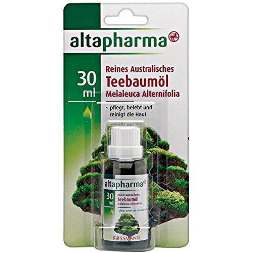 altapharma Reines Australisches Teebaumöl 30 ml pflegt, belebt & reinigt die Haut
