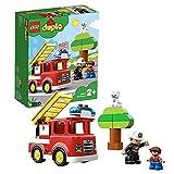 LEGO 10901 Duplo Town Le Camion De Pompiers Jouet pour Enfants 2 - 5 Ans avec...
