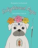 Enlightened Pugs Coloring Book
