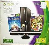 Console Xbox 360 4 Go + capteur Kinect + Disneyland Adventures (jeu Kinect) +...