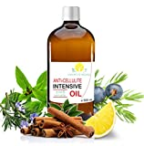 Huile Anti Cellulite 100% Naturelle aux Huiles Essentielles de Citron, Romarin et...