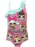 L.O.L Surprise! - Maillot de Bain - Dolls - Fille - Rose - 4-5 Ans