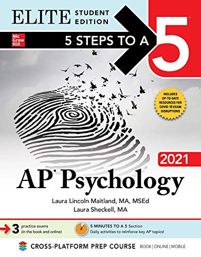 5 Steps to a 5: AP Psychology 2021 Elite Student Edition (5...