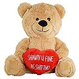 Hollabears Shawty U Fine Teddy Bear - Funny Plush for The Girlfriend,...