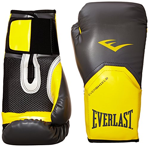 Everlast 2300GR/OR14 - Guante de boxeo elite, color gris/ naranja