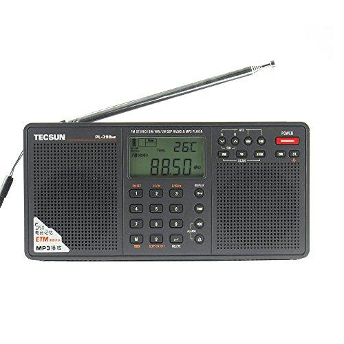 BCLラジオ PL-398MP 高感度 短波ラジオ 短波/AM/FMステレオラジオ MP3再生(SDカード) アイ・ダイレクトオリ...