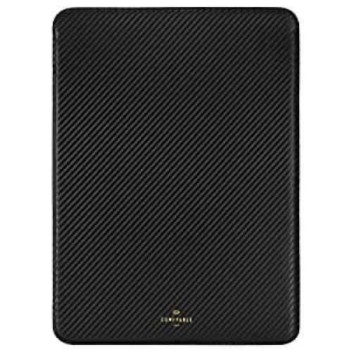 Comfyable Slim Laptop Sleeve Compatible with 13 Inch MacBook Pro 2016-2020 M1/A2338 A2251 A2289 A2159 & Mac Air 2020 M1 A2337, Protective Computer Cover Case for Mac, Carbon Fiber Grain, Black