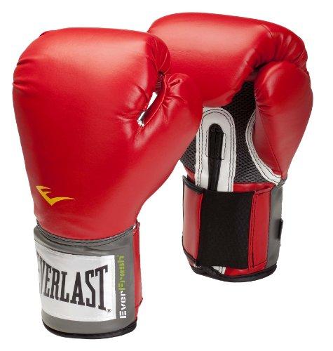 Everlast Pro Style, Guantes de boxeo, Rojo, 14 oz