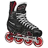 TOUR Hockey Adult FB-725 LE Inline Hockey Skates Black/Red Size: 5 Black/Red