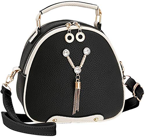 51x EzquBEL UTILITY: Shoulder Bags Purse, Crossbody bags, Stylish Handbags, Messenger Bags, Cell Phone Wallet. Different Carry Ways for Various Occasions. STYLISH: This stylish small size crossbody purse features adjustable long shoulder strap (48 inches or 24 inches maximum in drop length) with zipper closure that can be worn many different ways. Good for both traveling and everyday use. WATER RESISTANT:Nuwa Small Crossbody Bag made of high quality superior synthetic soft leather, water and tear resistant, like your loyal servant, always accompany you and protect your personal belongings from the wind and rain.