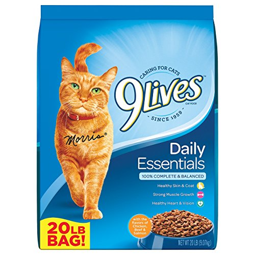 Product Image 1: 9Lives 20 Lb Daily Essentials Dry Cat Food, Large