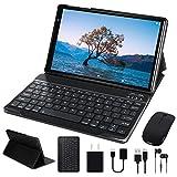 Tablet 10 Pulgadas FACETEL Q3 Android 9.0 4GB de RAM y 64 GB de ROM,5MP 8MP Cámara Tablet PC Batería de 8000mAh,Certificación Google gsm   WiFi   GPS   OTG   FM   Bluetooth-Gris