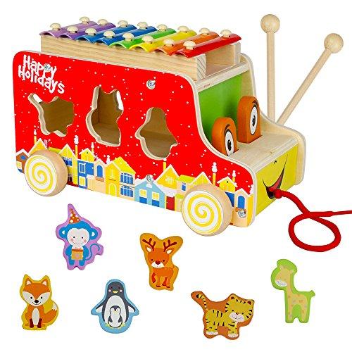 XilófonoInfantil con puzzle para niños