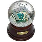 """Show your pride by owning unique Seattle Mariners memorabilia Baseball park in a snow globe Colored confetti Clap your hands and the music plays """"Take me out to the Ballgame"""" 4 color window gift Box included"""