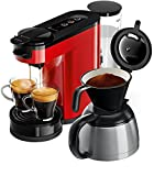 Philips Senseo HD6592/80 Switch 2-in-1 Kaffeemaschine,...