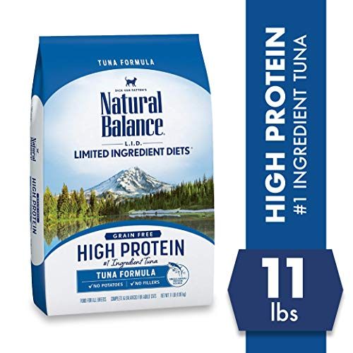 Product Image 2: Natural Balance L.I.D. Limited Ingredient Diets High Protein Dry Cat Food For Adult Cats, Tuna Formula, 11-Pound