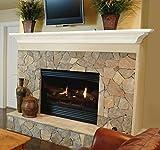 Pearl Mantels 618-60 Crestwood Mantel Shelf, 60-Inch, White, 60 Inch