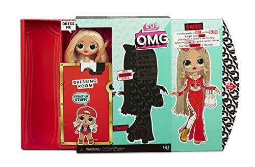 Image 5 - MGA- Poupée-Mannequin L.O.L O.M.G. Swag avec 20 Surprises Toy, 560548, Multicolore