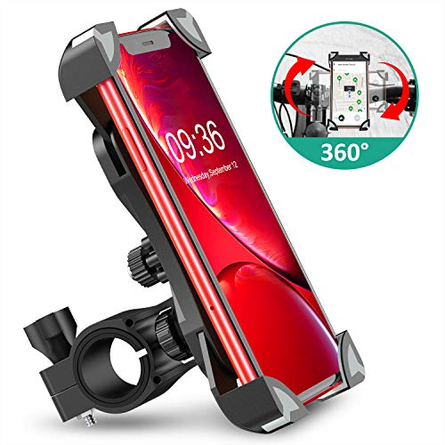 Universal Anti-Shake Bicycle Phone Holder w/ 360° Rotation