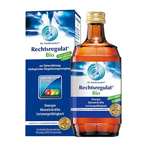 Dr. Niedermaier Rechtsregulat® Bio I enthält natürliches Vitamin C I Immunsystem stärken I fermentierte Enzyme für eine biologische, rein pflanzliche Immunregulierung I 350ml