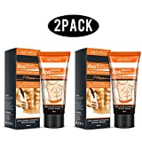 2 Pcs Fat Burning Cream,Abdominal Muscle Cream Fat Burner Cellulite Creams Tighten Muscles, Slimming Enhancer Workout Coconut Body Cream for Weight Losing