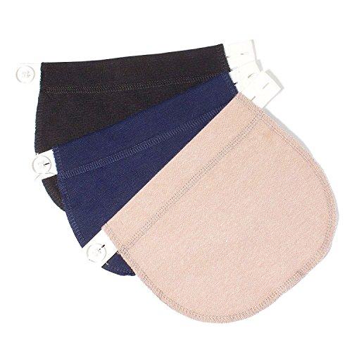 KANGYH Extension Cintura Gravidanza Cinghie Elastiche per Pantaloni Belly Belt Fascia allarga...