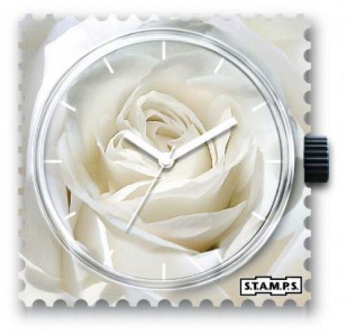 S.T.A.M.P.S Uhrengehäuse / Wechselziffernblatt, Design: Innocence 100226, Quadratisch 42 x 42 x 9 mm, Kunststoff
