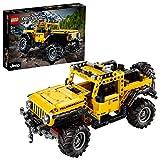 LEGO Technic 42122 Jeep Wrangler Rubicon Modèle de collection de 4x4, SUV...