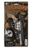 Big Game Toys~DOC Holliday Toy Cap Gun Pistol/Revolver Cowboy Western Holster/Belt New