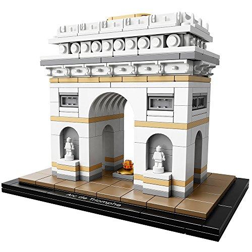 LEGO Architecture Arc De Triomphe 21036 Building Kit (386 Piece)