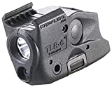 Streamlight 69290 TLR-6 Tactical Pistol Mount Flashlight 100 Lumen with Integrated Red Aiming Laser Designed Exclusively and Solely for Glock Railed Hand Guns, Black