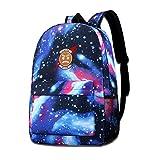 David A Beltran La-Zar-Beam - Mochila para niños, diseño de cielo estrellado, para viajes al aire libre