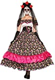 Forum Novelties Women's Day Of Dead Spanish Lady Costume, Multi, Standard