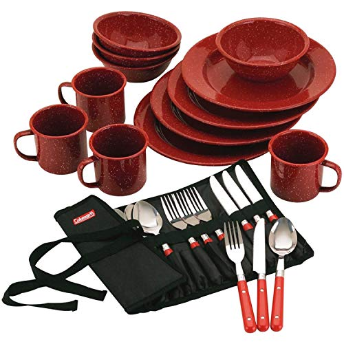 Enamelware Dinner Set