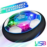 Baztoy Air Power Football, Jouet Enfant Ballon de Foot Rechargeable avec LED...