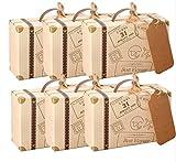 Lot de 50 pièces de mini-valise AmaJOY - idée cadeaux à offrir aux...