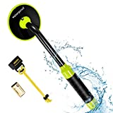 RM RICOMAX Metal Detector Underwater - Waterproof Pinpointer Up to 100 Feet Underwater for Scuba, All-Metal Mode & Pulse Induction Targeting with Vibration LED, Ideal for Adults and Kids