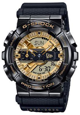 Casio G-Shock GM110NE-1A Limited Edition New Era 100th Anniversary Black Watch