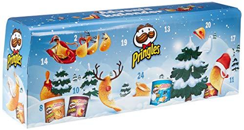 Pringles Chips-Adventskalender Modell Hellblau, 1er Pack (1 x 1.11 kg)