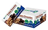 BioTrust Protein Brownies, Decadent High Protein Snacks, Low Carb Gluten Free Brownie Bars with 10g Protein, 9g Net Carbs, 200 Cals, Soft-Baked Protein Bar, Cookie Dough Blondie Flavor (8 per Box)