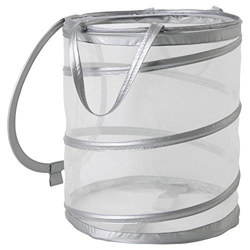 Ikea FYLLEN 800.992.24 Laundry basket, gray, Diameter: 17', Height: 19', Volume: 21 gallon