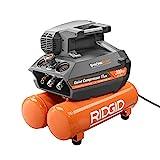 RIDGID 200 psi 4.5 Gal. Electric Quiet Compressor (Orange)